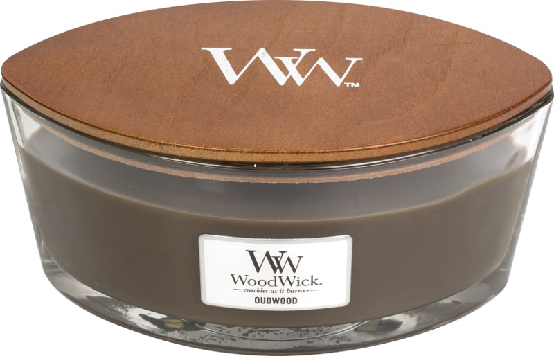 Woodwick Geurkaars Oudwood Ellipse Candle