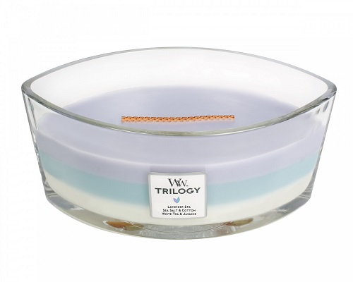 Woodwick Geurkaars Trilogy Calming Retreat Ellipse Candle