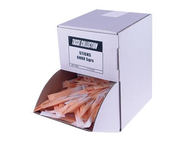 Suikersticks, 5 g, doos van 600 stuks