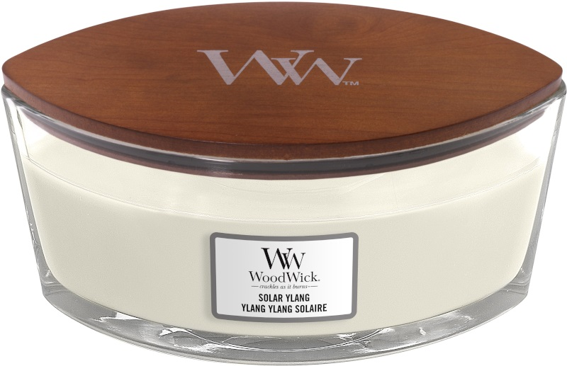 Woodwick Geurkaars Solar Ylang Ellipse Candle